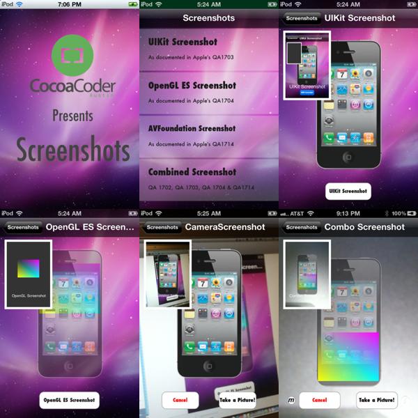 Screenshots Final ScreenShots
